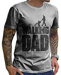 Stylotex Herren T-Shirt Basic The Walking dad , Farbe:heather The Walking Dad, Herren T Shirt, Gifts For Dad, Fathers Gifts, Dads, Mens Tops, Fun, Blog, Clothes
