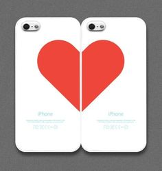 heart case for couple