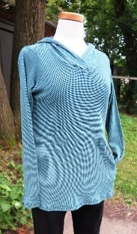 Thermal hoodie from Cut Loose! at Norton's U.S.A! #MadeinUSA and perfect for fall!