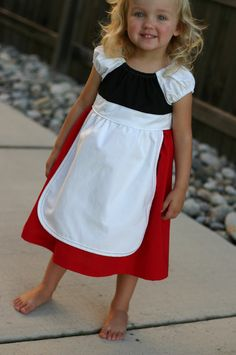 Gnomeo and Juliet Gnome Dress/Costume by wonderfullymade139, $45.00