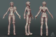 ArtStation - Yuffie - FinalFantasy VII, Carl Gonzalez