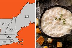 Connecticut, Rhode Island, Massachusetts, Vermont, Maine, and New Hampshire.