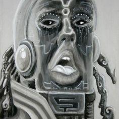 """Psychonaut"" (acrylic on canvas, Canvas, Illustration, Fictional Characters, Instagram, Art, Tela, Art Background, Kunst, Canvases"