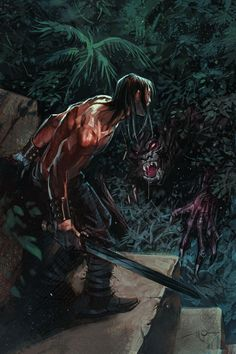 Conan Art by Massimo Carnevale