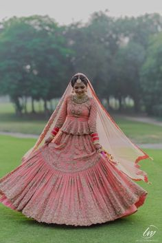 We Recently Spotted These Brides In Gorgeous Shades Of Coral And Loved It!