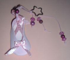 Sapato bailarina Key Fobs, Ballerina, Shoes