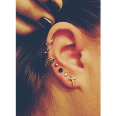 Tumblr ❤ liked on Polyvore featuring jewelry, earrings, piercings, accessories, pictures and earring jewelry