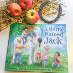 Just received my copies of A Horse Named Jack @sleepingbearpress written by Linda Vander Heyden... such a fun story to illustrate! #childrensbooks #illustration #lindavanderheyden
