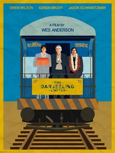 Darjeeling Limited Movie Poster Art Print