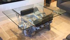 V8 COBRA ENGINE TABLE BY BENOIT DE CLERCQ