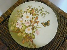 ANTIQUE 19TH CENTURY PORCELAIN PLATE WITH A HAND PAINTED SCENE By A Walts