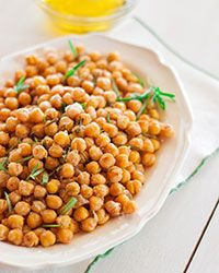 Crunchy Chickpeas with Rosemary and Olive Oil Recipe Gluten-Free Recipe Slideshow