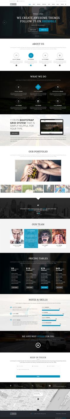 The best collection of professional free corporate and business web templates designed by great designers, see the post for Page Template, Templates, Free Web Page, Web Design, Themes Free, Corporate Business, Models, Template, Stencils