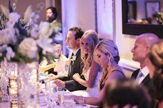 #reception #navywedding #weddingreception #bluelights #weddingdecor #whiteflowers #centerpieces #wedding wedding #weddings #bluewedding #decor #fancy #floral