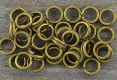 [101004] Ogniwka sprężynki okrągłe 4mm w kolorze brązu 160szt