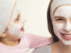 Learn how to make a face mask for kids and share it with your little ones tonight! It doesn't need to be a complicated process and kid-friendly ingredients allow them to join in the process.