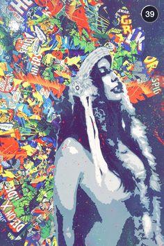 Miami art show through snapchat...