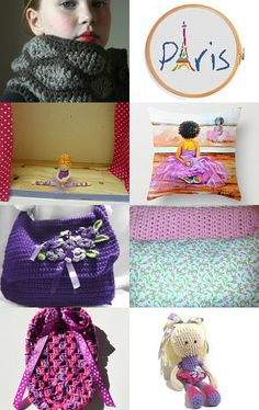 Everything a little ballerina needs in Paris by Rosy B on Etsy--Pinned with TreasuryPin.com