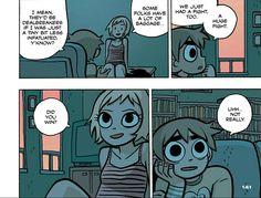 Scott Pilgrim Comic, Bryan Lee O Malley, Vs The World, Folk, Geek Stuff, Animation, Graphic Novels, Cartoon, Comic Art