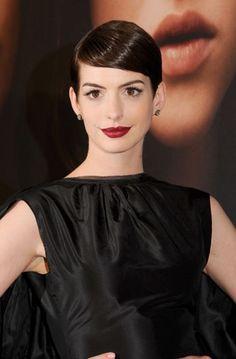 Anne Hathaway - short hair