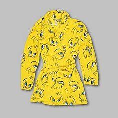 Looney Tunes- -Tweety Bird Women's Plush Fleece Robe