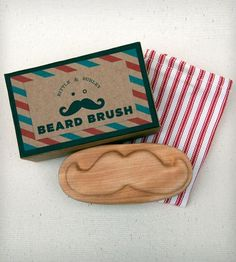 Beard and Mustache Brush by Bittle & Burley
