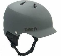 Bern Watts Matte Water Helmet, Grey, Medium by Bern. $31.56. Amazon.com                The top choice for water sports enthusiasts and endorsed by top wake athletes Chad Sharpe, Mike Ennen, and Silas Thurman, the Watts H2O delivers the protection you need with the low profile, skate-inspired fit you want. Bomber ABS shell construction protects your noggin with breathable/water draining Brock shock absorbing foam, and soft terry cloth lining against the head deliver...
