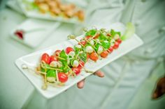 pInsalate Caprese Skewer with mini Bocconcini, Cherry Tomatoes and Basil/p