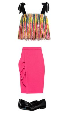 Untitled #1408 by tigergirl121 on Polyvore featuring polyvore, fashion, style, Saloni, Boutique Moschino, Blowfish and clothing