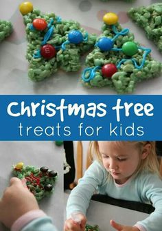 Christmas tree treats.