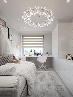 Room Design, Room Inspiration Bedroom, Small Room Design, Room Design Bedroom, Stylish Bedroom, Bedroom Inspirations, Small Room Bedroom, Room Decor, Room Decor Bedroom
