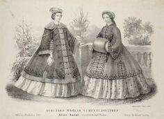 1860s fashion, Hungary http://himzoszakkor.gportal.hu/gindex.php?pg=14790845