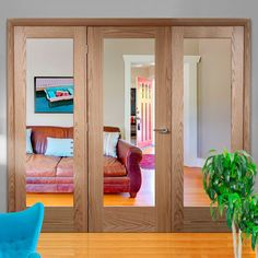 Easi-frame oak door and frame room dividers, one of our largest options. Oak Door Frames, Oak Doors, Room Divider Doors, Room Dividers, Architrave, Door Sets, Single Doors, Internal Doors, Shaker Style