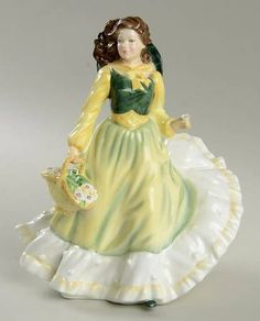 April - Royal Doulton Royal Doulton Figurine at Replacements, Ltd