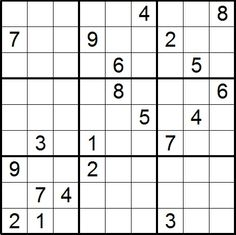 This is an image of Unforgettable Monster Sudoku Printable