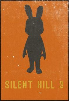 Minimalist Posters - Silent Hill 3
