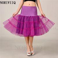 Free Shipping Purple Red Bridal Petticoat Retro Vintage Short Underskirt Wedding Skirts Crinoline With Slips Clothes 2016