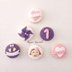 1 Yaş Doğum Günü Kurabiyeleri / 1st Birthday Cookies