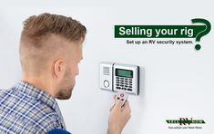 Ensuring your buyer's safety should be your top priority when selling your RV. Install an RV security system.