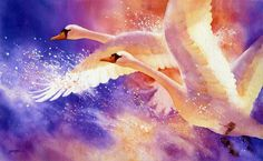 Rise Up - by Susan Crouch (a great watercolour artist)