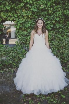 princess style wedding gown from Mori Lee