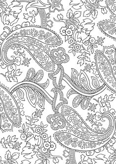 BLISS Paisley Coloring Book YOUR PASSPORT TO CALM By Marty Noble Kelly A Chinese DesignPaisley