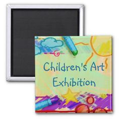Children's Art Exhibition Magnet