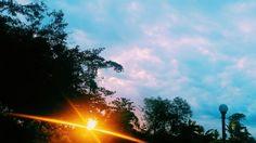 พระอาทิตย์ตกดิน #ayuthaya