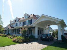 farmhouse with porch and porte cochere designs - Google Search