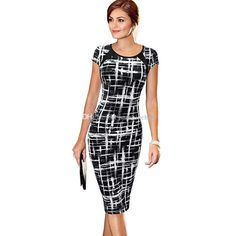 2017 Newest Spring Europe And the United States Women's Fashion Short-sleeved Fight Skin Stripe Wave Point Leisure Package Hip Pencil Skirt Wholesale High-quality Dress Women Package Hip Pencil Skirt Stripe Wave Point Party Dresses Online with $18.86/Piece on Sunshinehere's Store | DHgate.com