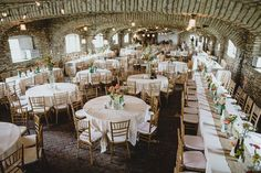 Mayowood Stone Barn Wedding Reception | A Barn Wedding So Gorgeous, You Have to See It to Believe It | Kennedy Blue