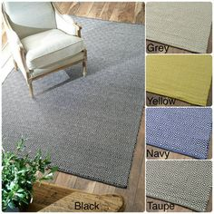 nuLOOM Handmade Flatweave Diamond Cotton Rug (8' x 10') | Overstock™ Shopping - Great Deals on Nuloom 7x9 - 10x14 Rugs