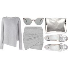 #Styled Super cute look believe it or not I've actually owned silver loafers!
