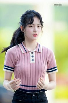 Jung So Min, Rapper, Ji Soo, Japanese Girl, Kpop, Ponytail, Girl Group, Asian Girl, Womens Fashion
